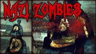 AGLOMERACIÓN DE ZOMBIES!!! - Sniper Elite Nazi Zombies Parte 1