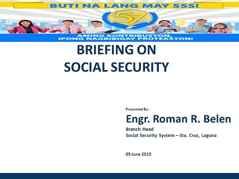 Social Security System Orientation