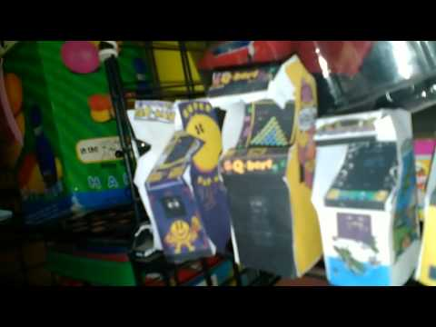 Arcade papercraft