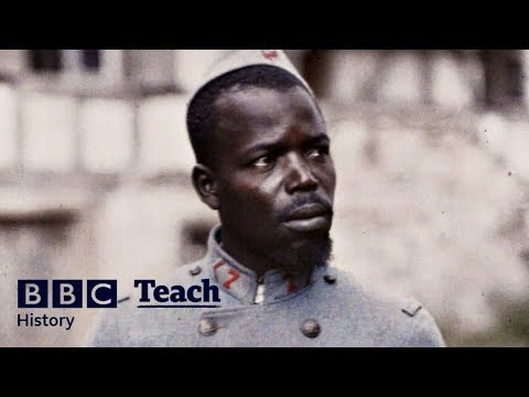 West African troops in the French army | History - The World's War