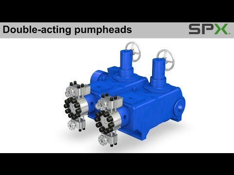 Bran+Luebbe NOVADOS Metering Pump with Double-Acting Pumpheads