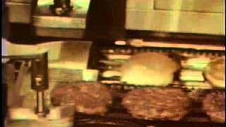 Automatic Hamburger Machine - 50 Years Ahead of Its Time!