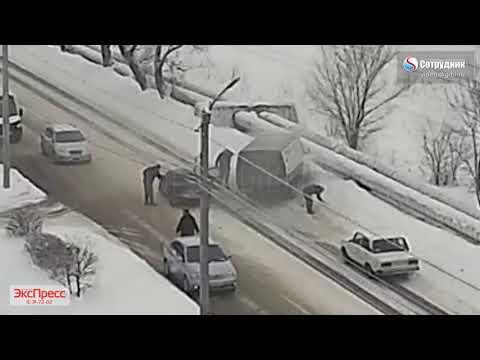 Бийск ДТП по ул. Социалистическая 27.11.2019