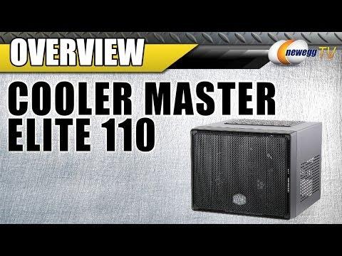 COOLER MASTER Elite 110 Mini-ITX Tower Computer Case  Overview - Newegg TV