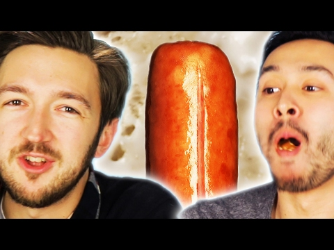 People Eat Hot Dogs While Learning Gross Facts About Them