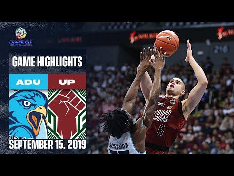 AdU vs. UP - September 15, 2019 | Game Highlights | UAAP 82 MB