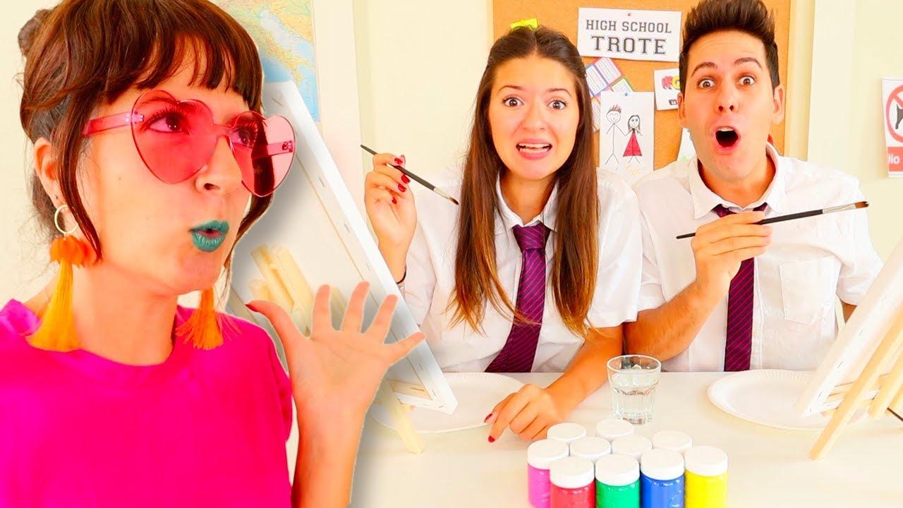 Maestra Di Arte La Scuola Dei Me Contro Te Youtube