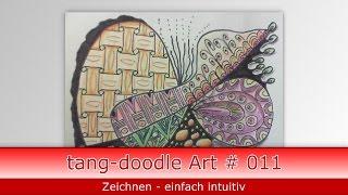 wie zeichne ich doodle Art // how to draw doodle art # 011