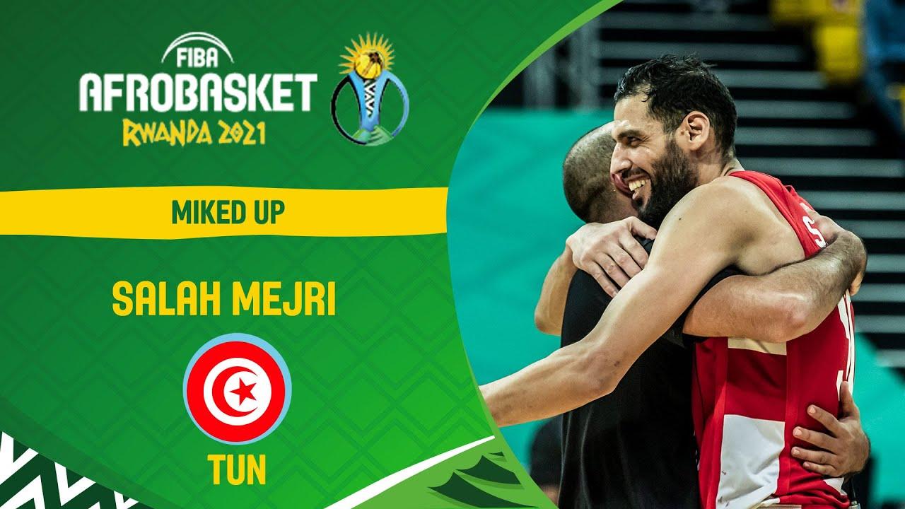 AfroBaskets Champion Salah Mejri mic'd up 🎤 | AfroBaskets 2021