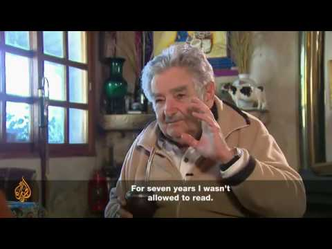 "The poorest president in the world ""Jose Mujica""  'I earn more than I need'"
