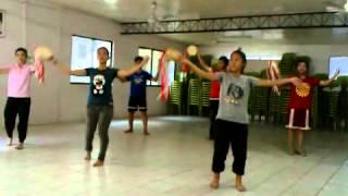 One way jesus( tambourine worship dance)