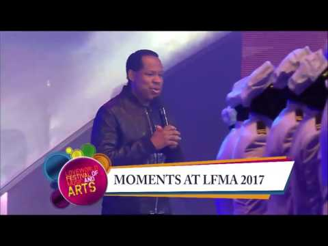 Pastor Chris Walked onto the #LFMA2017 Stage, No One Expected What Followed