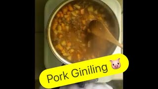 First Vlog! How to Cook Pork Giniling 🐷 Vlog101
