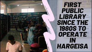Silanyo National Library, Hargesia Somaliland (Ko Vlogs #86)