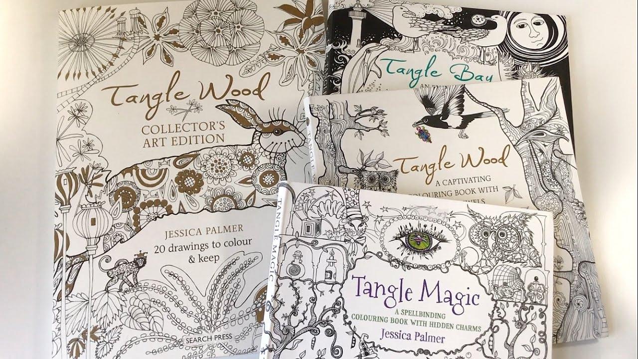 Flip Through Jessica Palmer Coloring Books