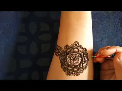 Indian bridal henna design  Beatiful bridal henna design