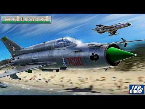 FULL VIDEO BUILD MIG-21MF By EDUARD 1:72 Scale