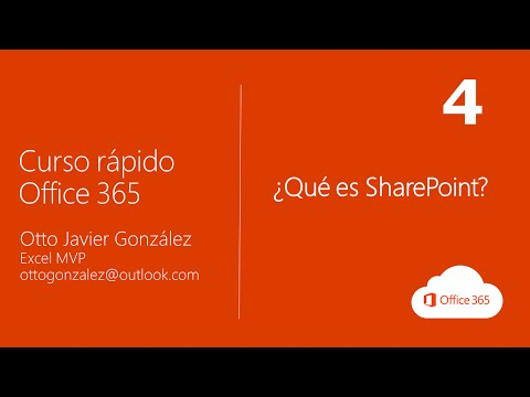 ¿Qué es SharePoint? | Office 365 #4/10