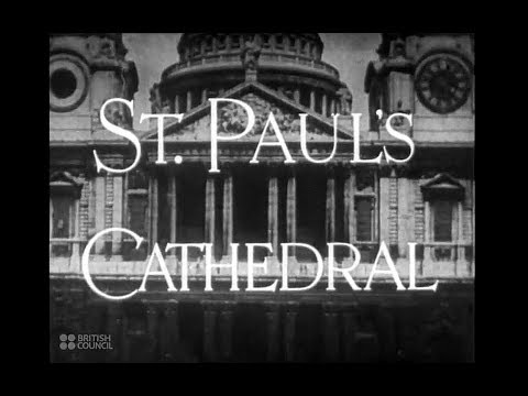 British Council Film: St  Paul's Cathedral (1942)