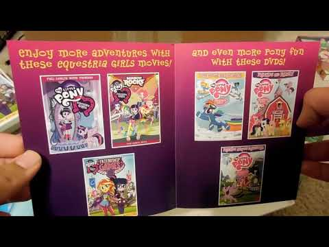 My Little Pony Equestria Girl's DvD's Review