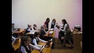 фрагмент урока музыки в 5 классе ( учитель Ковалёва М.И.)
