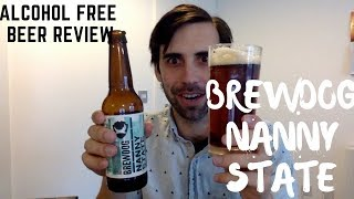 MIND BLOWING NON ALCOHOLIC BEER   BrewDog Nanny State   Best Non Alcoholic Beer Reviews