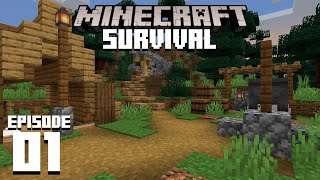 Minecraft 1.16 Survival Let's Play | CAMPSITE | Ep 1