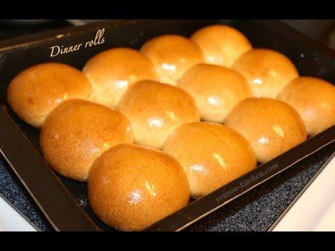 recette-pains-sandwich/خبز-الساندويتش-homemade-dinner-rolls-recipe