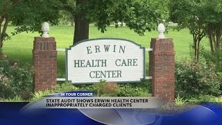 Audit: Erwin Health Care Center over charged patients for adult diapers