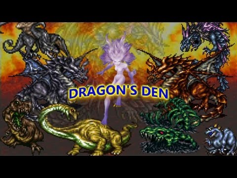 Final Fantasy 6 Advanced: Part 24_The Dragon's Den