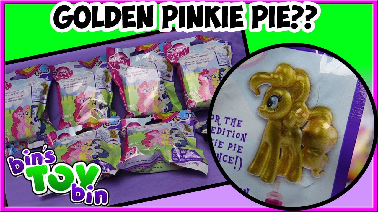 My Little Pony Blind Bags Quest For The Rare Golden