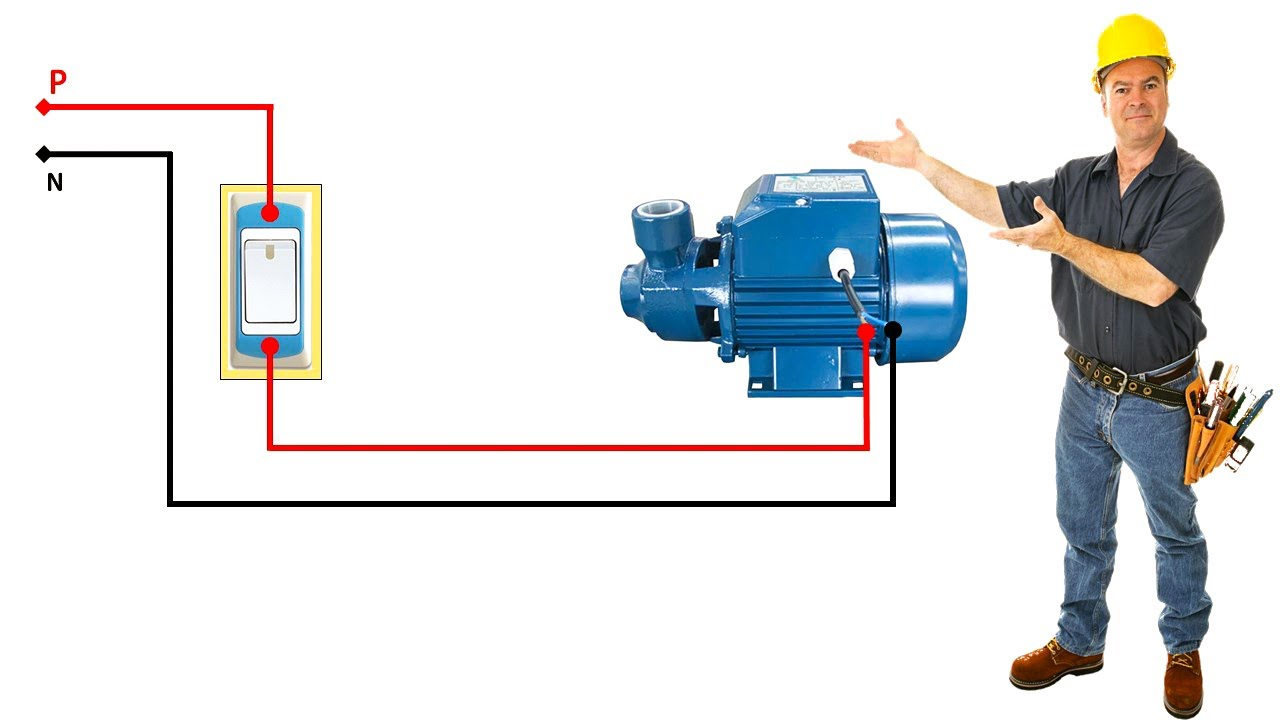Pump Motor Wiring Diagram