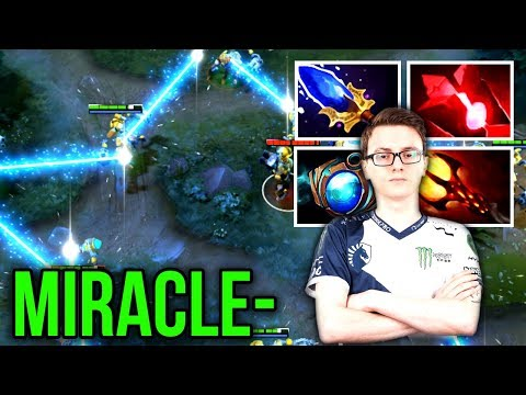 Miracle- Insane Tinker Control Aghanim's Scepter Build 9k MMR - Dota 2