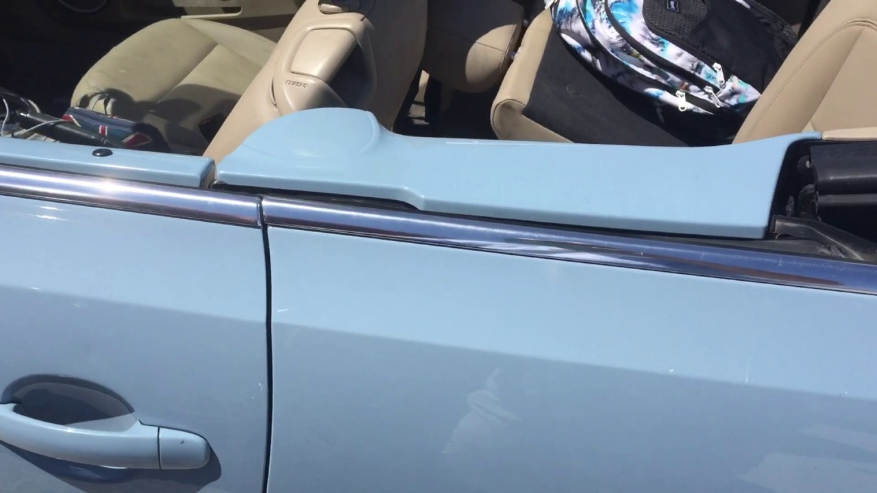 2017 Vw Beetle Trunk Does Not Open How To Convertible