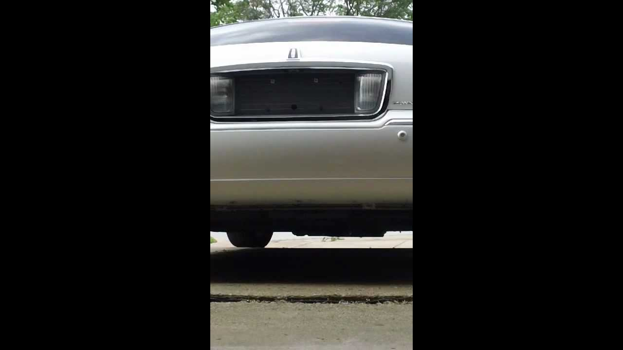 Lincoln Town Car L E D Reverse Lights In The Day Youtube