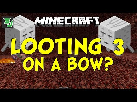 how to use a bow with looting sword