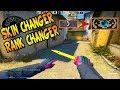 ✨ SKIN CHANGER + PATENTE CHANGER NO COMP! FUI BAN? (Testando o VACnet #1)