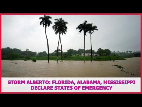 US BREAKING NEWS | Storm Alberto: Florida, Alabama, Mississippi declare states of emergency