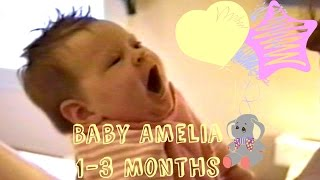 Video BABY AMELIA 1-3 MONTHS! download MP3, 3GP, MP4, WEBM, AVI, FLV Oktober 2017
