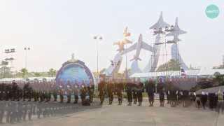 พิธีสวนสนามเนื่องในวันกองทัพอากาศ 9 เมษายน 2557 Royal Thai Air Force Aerial Marching