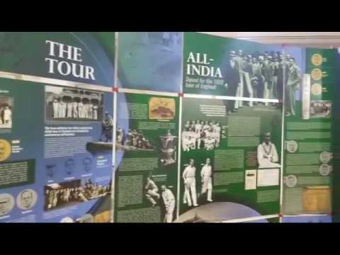 India-england Cricket Relationship Exhibition At Salar Jang museums hyderabad