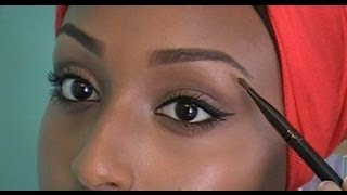 One of Aysha Abdul's most viewed videos: How to Fill in Your Eyebrows Flawlessly | Aysha Abdul