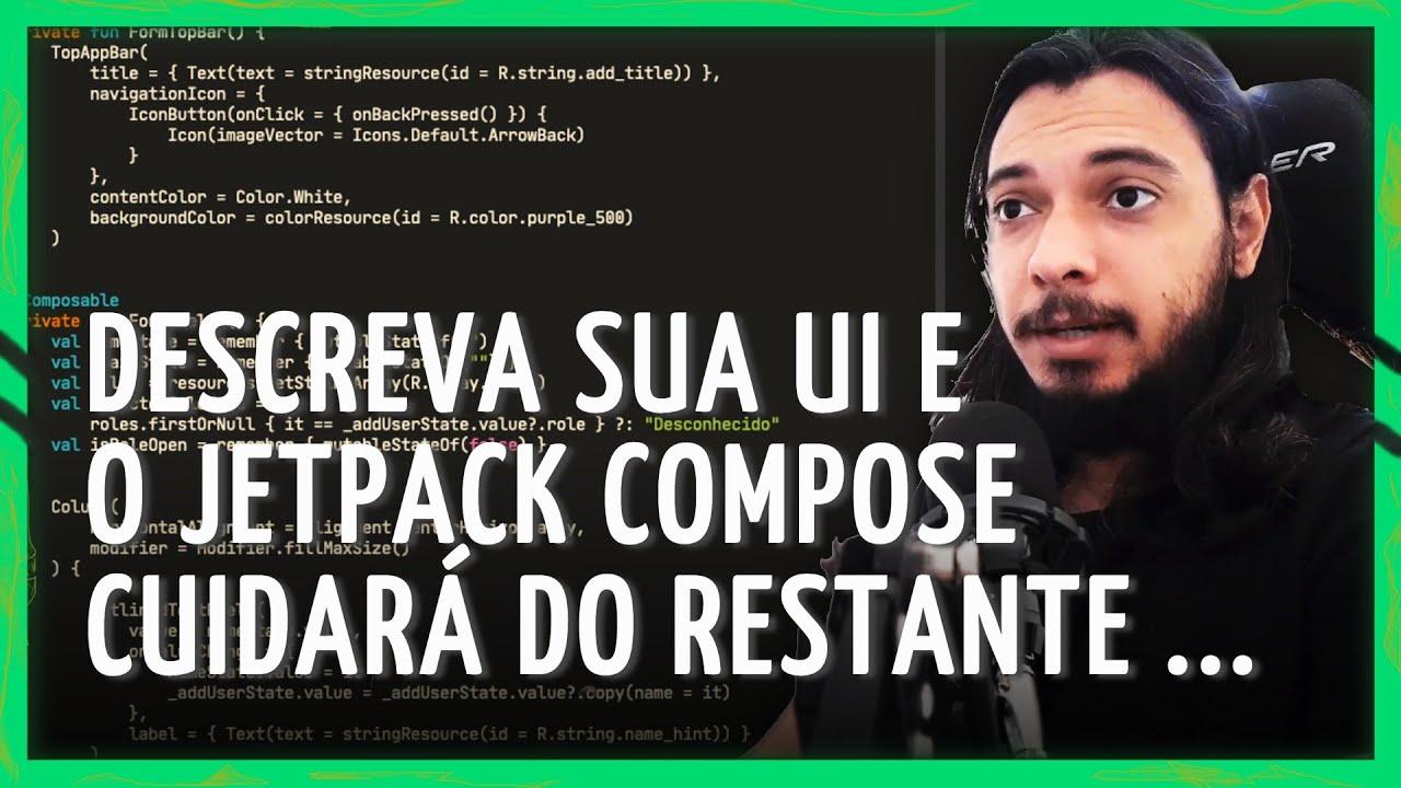 JETPACK COMPOSE ANDROID - COMO COMEÇAR