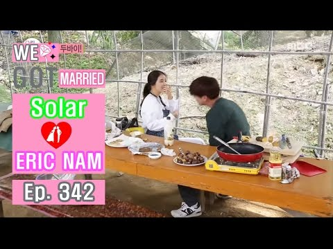 [We got Married4] 우리 결혼했어요 - Solar have a good laugh at a joke 20161008