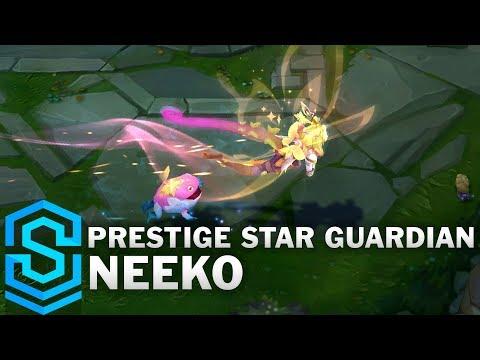 Prestige Star Guardian Neeko Skin Spotlight - League of Legends
