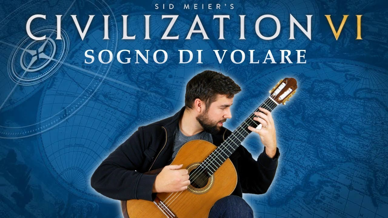 Civilization Vi Sogno Di Volare Classical Guitar Cover