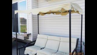 menards patio swing cushions seat