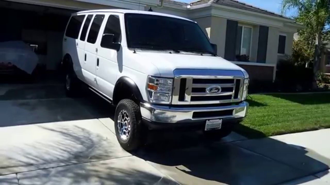 128 sold sold sold 2014 ford e350 4x4 quadvan super duty xlt club wagon youtube