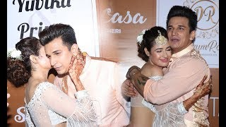 Prince Narula - Yuvika Chaudhary's Sangeet Ceremony Grand Celebration With Celebs   Full HD Video