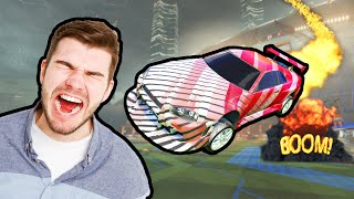 We used a strategy in Rocket League that made ALL our opponents rage